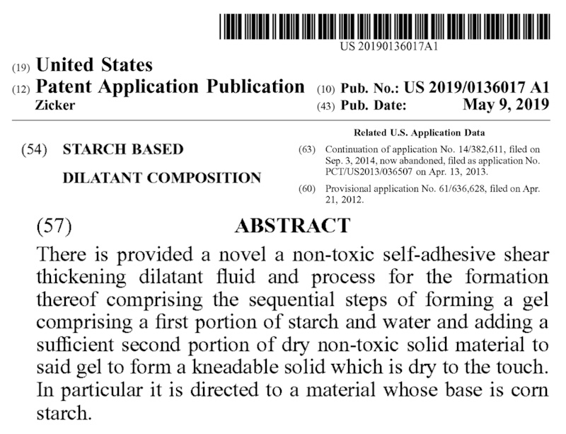 US utility patent application